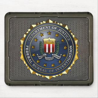 FBI Emblem Mouse Pad