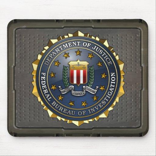 FBI Emblem Mouse Pads