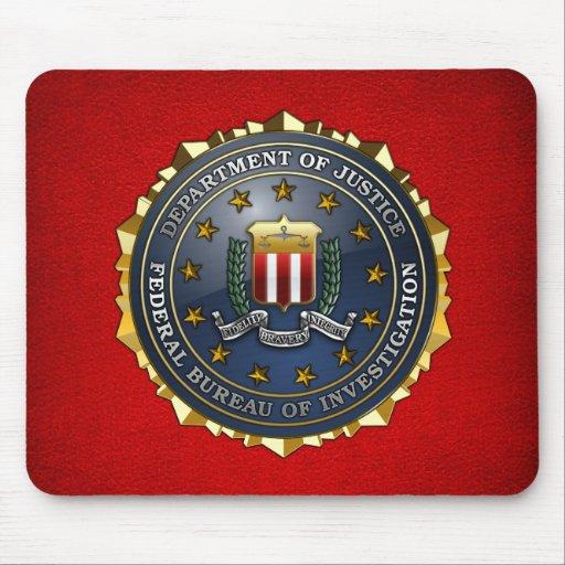 FBI Emblem Mousepad