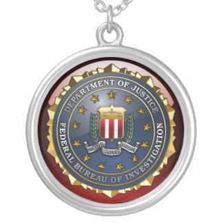 FBI Emblem Personalized Necklace