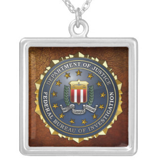 FBI Emblem Necklaces