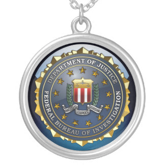 FBI Emblem Custom Jewelry