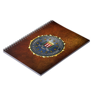 FBI Emblem Notebook