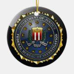 FBI Emblem Ornaments