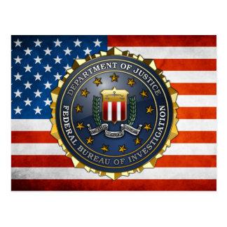 FBI Emblem Post Card