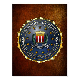 FBI Emblem Postcard