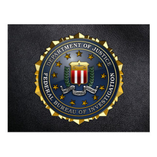 FBI Emblem Post Cards