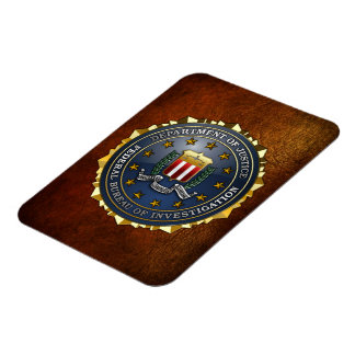 FBI Emblem Rectangle Magnet