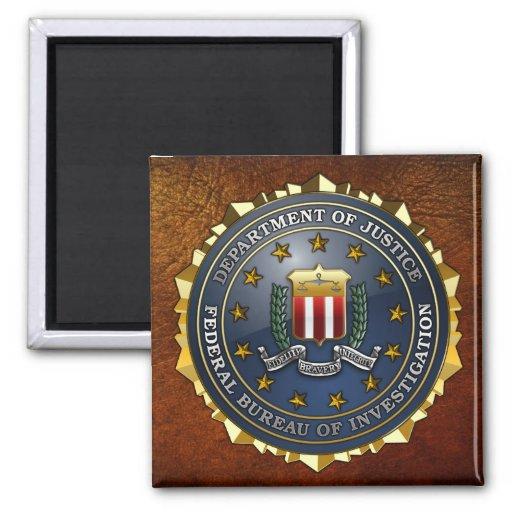 FBI Emblem Refrigerator Magnets