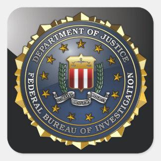 FBI Emblem Square Sticker