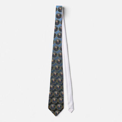 FBI Emblem Tie