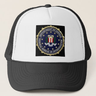 FBI Emblem Trucker Hat