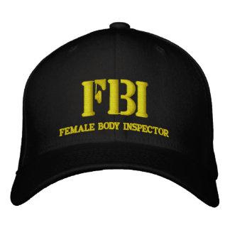 FBI EMBROIDERED BASEBALL CAP