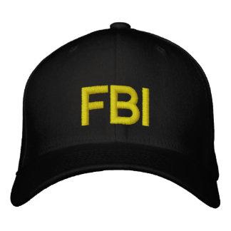 FBI EMBROIDERED BASEBALL HAT