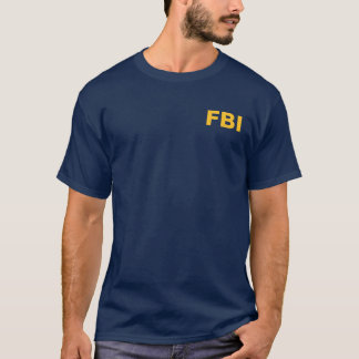FBI (Female Body Inspector) Funny Text T-Shirt