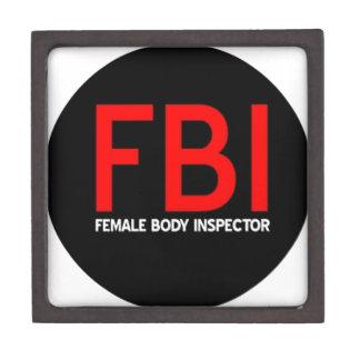 FBI Female Body Inspector Gift Box