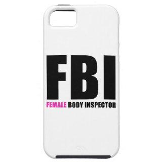 FBI Female Body Inspector iPhone SE/5/5s Case