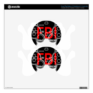 FBI Female Body Inspector Skins For PS3 Controllers