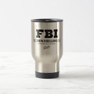 FBI FRENCH BULLDOG INT. MUGS