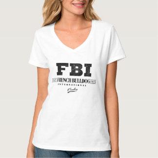 FBI FRENCH BULLDOG VINTAGE TEE