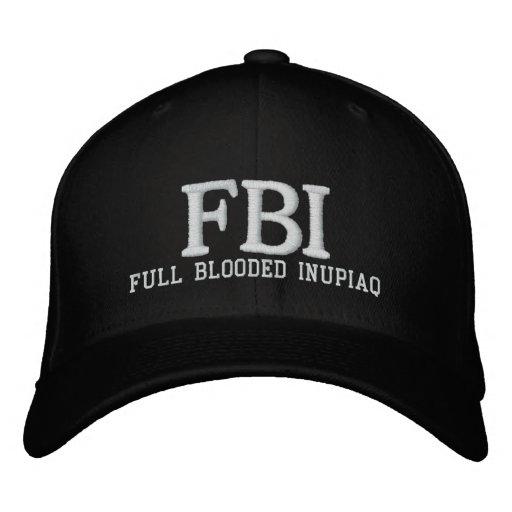 FBI FULL BLODDED INU EMBROIDERED BASEBALL HAT