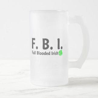 FBI Full Blooded Irish 2 Mug