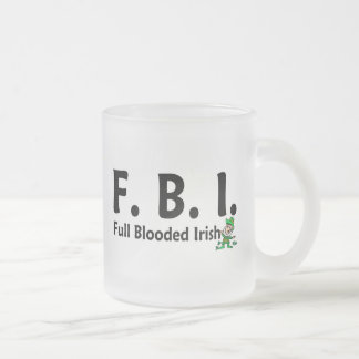 FBI Full Blooded Irish 3 Mugs