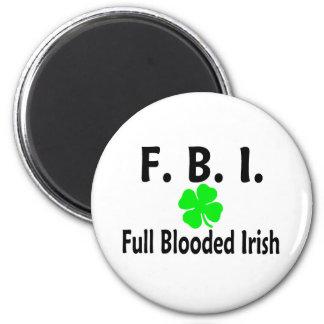 FBI Full Blooded Irish Clover Magnet