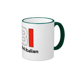 FBI Full Blooded Italian Green Coffee Mug