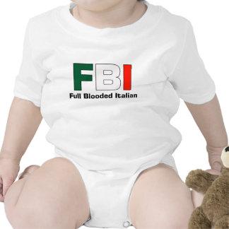 FBI Full Blooded Italian Infant Creeper