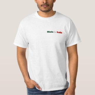FBI Full Blooded Italian White Big Back T - Shirt