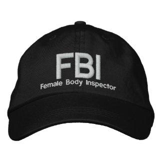 FBI GORRA DE BÉISBOL
