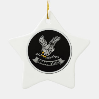 FBI Hostage Rescue Team without Text Ceramic Ornament