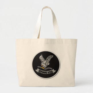 FBI Hostage Rescue Team without Text Large Tote Bag