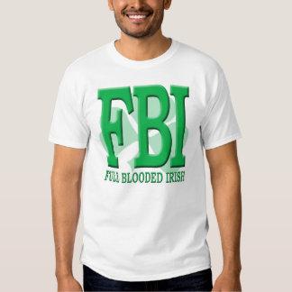 FBI - Irlandés completo de Blooded Playera