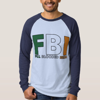FBI: Irlandés completo de Blooded Playera
