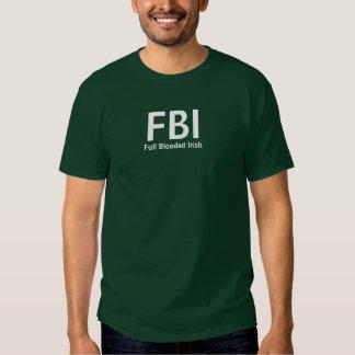 FBI, irlandés completo de Blooded Polera