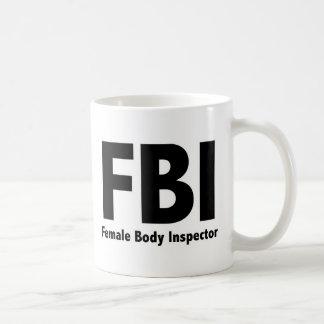 FBI Mr Funny Rude Humor Coffee Mug