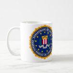 FBI Mug Taza De Café
