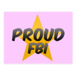 Fbi orgulloso postal