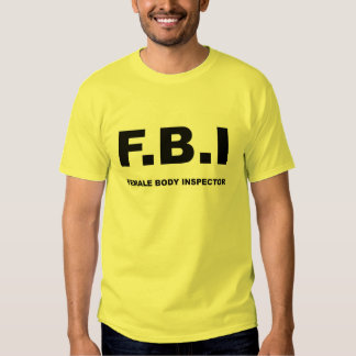 FBI por completo Polera