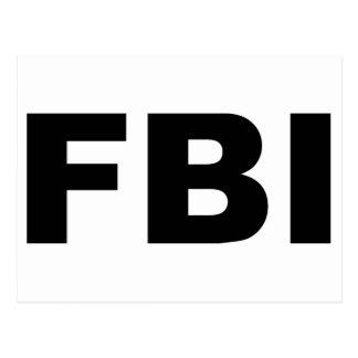 FBI POSTALES