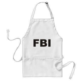 FBI Products & Designs! Adult Apron