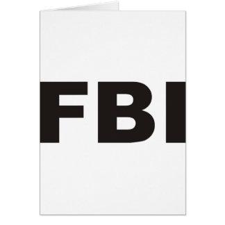 FBI Products & Designs! Card