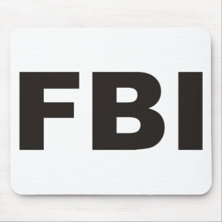 FBI Products & Designs! Mouse Pad
