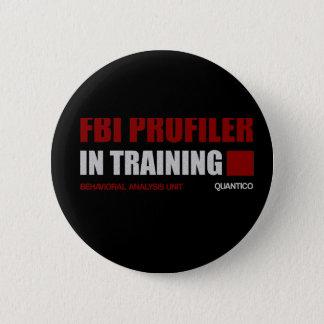 FBI Profiler in Training Pinback Button
