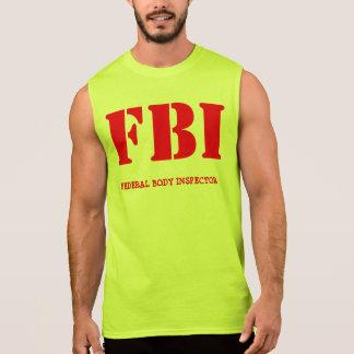 FBI REMERA SIN MANGAS