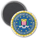 FBI Seal 3 Inch Round Magnet