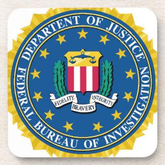 FBI Seal Beverage Coaster
