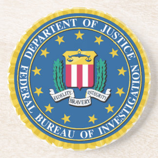 FBI Seal Coaster